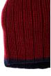 Шапка мужская теплая 254V001 бордово-синий