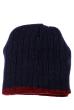 Шапка мужская теплая 254V001 сине-бордовый