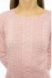 Свитер женский однотонный 85F202 бледно-розовый