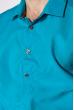 Классическая рубашка 120PAR107-2 бирюзовый