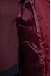 Пуховик женский 120PSKL9605 вишневый