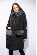 Куртка женская с меховыми карманами 120PAM2089 черный