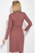 Платье женское на запах 64PD345-1 терракотовый
