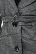 Кардиган женский на поясе 64PD3041-3 серый