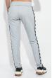 Костюм (тройка) женский, спортивный 77PD871 светло-серый