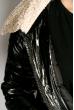 Куртка женская 120PSKL6245 черно-молочный