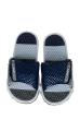 Шлепанцы женские 11P073 серо-синий