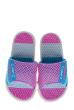 Шлепанцы женские 11P073 розово-голубой