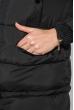 Куртка женская «Трансформер» с контрастным мехом 315V001-1 черный