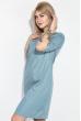 Платье женское, в мелкий горох, рукав три четверти 72PD75 оливковый