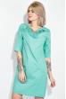 Платье женское, в мелкий горох, рукав три четверти 72PD75 салатовый