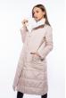 Пальто женское двустороннее 110P042-1 кремовый