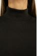 Гольф женский приталенного покроя 620F003 темно-шоколадный