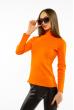 Гольф женский приталенного покроя 620F003 оранжевый