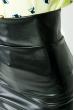 Юбка-карандаш из эко кожи  55P002 черный
