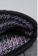 Шапка короткая 375F001 грифельно-розовый