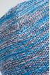 Шапка короткая 375F001 серо-голубой