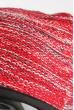 Шапка короткая 375F001 красно-белый