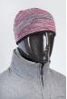 Шапка короткая 375F001 розово-серый