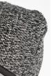 Шапка короткая 375F001 серо-черный