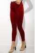 Брюки женские 623F105 Skinny красный