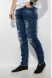 Джинсы мужские Slim Fit с нашивками 211P392-4 синий