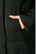 Женский спортивный пуховик 120P520 черно-красный