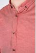 Рубашка мужская, однотонная 511F011-1 коралловый