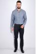 Рубашка мужская, однотонная 511F011-1 бледно-синий
