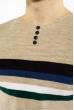 Джемпер декорированный пуговицами 619F1870 песочный