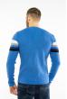 Джемпер декорированный пуговицами 619F1870 голубой