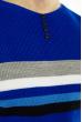 Джемпер декорированный пуговицами 619F1870 индиго