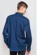 Рубашка повседневная 684K001 темно-синий