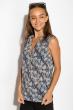 Блуза женская 516F483 сине-молочный