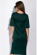 Платье 110P422 бутылочный