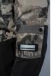 Куртка милитари  212P21013 черный милитари