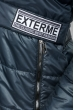 Куртка женская с элементами декора на поясе и груди 69PD893 графит