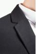 Пиджак однотонный мужской 197F018 черный