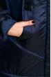Куртка женская 131PM251-1 темно-синий