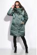 Куртка женская 131PM251-1 серо-зеленый