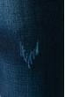 Джинсы мужские прямые 240V001 темно-синий