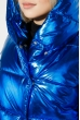 Куртка женская теплая на кнопках 69PD980 электрик металлик