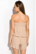 Комбинезон женский, шорты 81P1102-1 бежевый