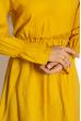 Платье в стиле Casual 632F016 горчичный