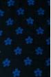 Палантин женский с цветочным принтом «Ромашки» 73PD017 темно-синий , ромашки