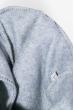 Костюм (Жилетка на меху, батник, штаны) утепленный  77PD866 серый