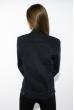Куртка женская на молнии 622F702-1 темно-синий