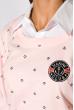 Джемпер-обманка женский 463V002 бледно-розовый