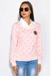 Джемпер-обманка женский 463V002 розовый