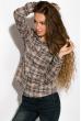 Рубашка женская 108P039 капучино